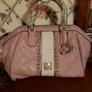 Guess Pink Purse Satchel Shoulder Bag NWT